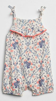 Lilly and Sid Woodland Woven Mix Playsuit Barboteuse B/éb/é Fille