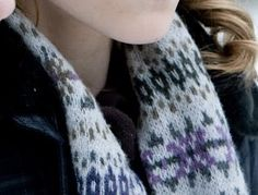 Hermoine Granger's Fair Isle Scarf from Harry Potter and the Half Blood Prince.