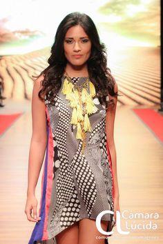 Maxi collar de Borlas amarillo Alejandra Valdivieso accesorios para mujer necklace