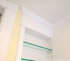 DIY custom recessed medicine cabinet between wall studs