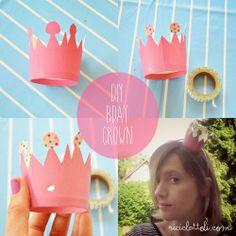 Riciclattoli (e dintorni...): birthday crown diy