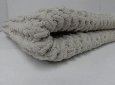 Knitted Baby Blanket   Baby Dove by PolkaDotKreations on Etsy, $40.00