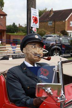 Flamstead Scarecrow Festival, Hertfordshire, UK