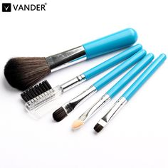 Vander Mini Makeup Brush Set (5Pcs) //Price: $9.07 & FREE Shipping //   #ilovemakeup
