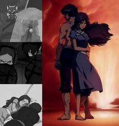 Katara and Zuko avatar Aang The Last Airbender, Avatar The Last Airbender, Korra Avatar, Team Avatar, Zuko And Katara, Avatar Series, Korrasami, Fire Nation, Legend Of Korra