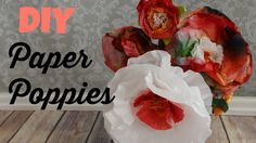 Paper Poppies for Earth Day or Mother's Day Today we are raiding the kitchen cabinets and recycle bin for a fun project that everyone will love! Let's make paper poppies and carnations!   #paperflowers #kidscrafts, #coffeefilter #flowers #recycle #crafts #earthday #mothersday