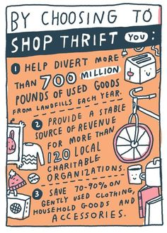 Low waste tips 5 Good Tips on Thrift Shopping DNAM - lowwaste Sustainable Living, Sustainable Fashion, No Waste, Love The Earth, Reduce Reuse Recycle, Bye Bye, Decluttering, Frugal, Sustainability