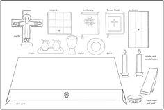 Level II - Altar Collage (Roman Catholic)
