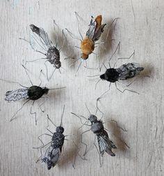 hand stitched mosquitos
