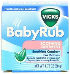 Vicks Baby Rub $1.00 Off With Printable Coupons!