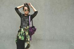 Get this look: http://lb.nu/look/8332877  More looks by Kylie Rodriguez: http://lb.nu/itsthekyliebabii  Items in this look:  Forever 21 Black Mesh Top, Charlotte Russe Sequined Camo Tank Top, Bershka Oversized Camo Jacket, My Everyday Fashion Purple Velvet Backpack, Bench Black Jogger Pants, Mental Clutter Black Choker, Ray Ban Gold Aviator   #edgy #grunge #street #fashion #fashionblogger #bloggerfashion #style #styleblog #bloggerstyle