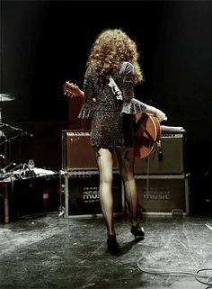 Poison Ivy of The Cramps: the sexiest pair of legs in rock 'n' roll (after Lux Interior's, that is), here photographed by Gerald Jenkins while performing with The Cramps in probably in. Bass, Tommy Emmanuel, Emo Dresses, Party Dresses, Fashion Dresses, Punk Rock Fashion, Fashion Boots, The Cramps, Rocker Outfit