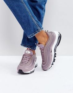 timeless design 226a2 b43f7 Shop Nike Air Max 97 Premium Trainers In Taupe at ASOS.