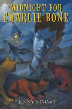 "Katie - Midnight for Charlie Bone by Jenny Nimmo. ""Charlie Bone's life with his widowed mother and two grandmothers undergoes a dramatic change when he discovers that he can hear people in photographs talking."" --Novelist"