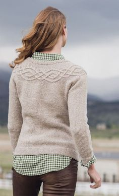 Ravelry: Tucker Sweater pattern by Amanda Scheuzger Love Knitting, Knitting Daily, Fall Knitting, Sweater Knitting Patterns, Knitting For Beginners, Knitting Designs, Knitting Ideas, Brooklyn Tweed, Jumpers For Women