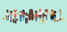 Oscar Health Insurance Characters