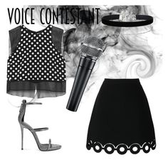 """The voice"" by vickymaturanas ❤ liked on Polyvore featuring Giuseppe Zanotti, Carven, Elizabeth and James, Miss Selfridge, thevoice and YahooView"