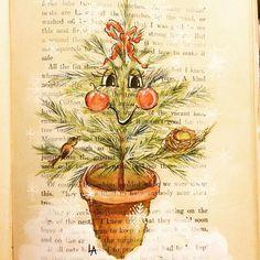 Linda Arandas #anthropomorphic #illustration #christmas #artlicensing