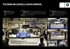 """Rear Mirror"" by #Draftfcb Zürich for BMW (Schweiz) AG #canneslions 