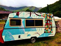 Caravana Xisqueta a la 2a Fira de Productes del Parc Natural de l'Alt Pirineu i de la Ovella Aranesa d'Arrós de Cardós