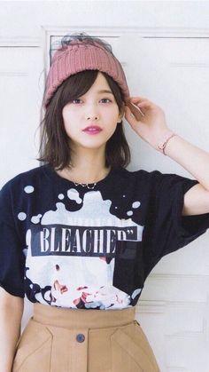 Beautiful Japanese Girl, Beautiful Asian Girls, Pretty Woman, Pretty Girls, Japan Girl, Japanese Models, Asian Beauty, Crop Tops, Lady