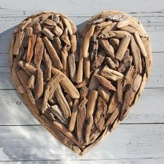 Driftwood Heart -I saw this in a shop in Pt. Pleasant Beach and I loved it there!