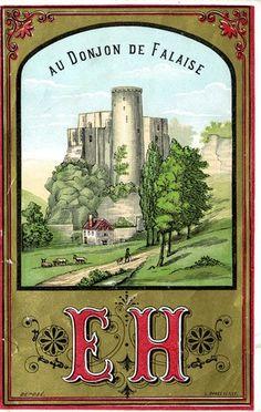 4 de 4 - Châteaux de France : donjon de Falaise