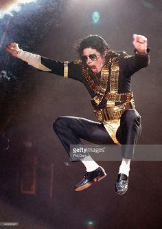 Michael Jackson performs live on stage, Jerudong Park, Brunei, July 16 1996.