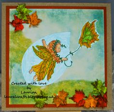 Blessings, Fairies, Blessed, Autumn, Create, Sweet, Cards, Painting, Image