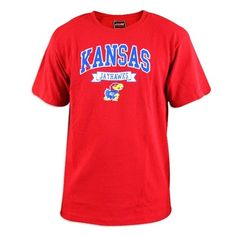 Kansas jayhawk galaxy ii ladies blue tee kansas gear for Funny kansas jayhawks t shirts
