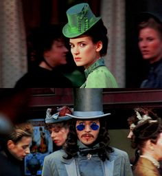 gary oldman    winona ryder    dracula..a favorite love story. There's something wrong with me, right?