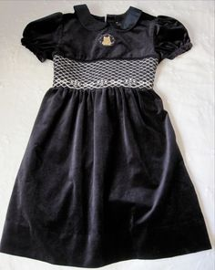33c9c854f9e9 Winnie the Pooh Girls Disney Velvet Princess Holiday Dress Navy Fall Size  7 8