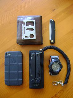 Bezoek onze webshop voor alles stijlvoller iPhone hoesjes - #iphone case in leather | everydaycarry:          Casio G-Shock AW-591MS-3AER         Leatherman Wave         Leatherman MOLLE Pouch         Paracord Tactical Coiled Lanyard in black         iPhone 4S         Magpul iPhone case         Imperial Schrade Sodbuster small black PK         Credit card survival tool         Brown leather wallet - http://www.telefoonhoesjes-shop.blogspot.nl/