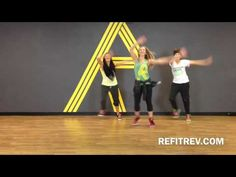 """▶ REFIT® CardioDance Fitness """"All I Want For Christmas Is You"""" The Newsboys - YouTube"""