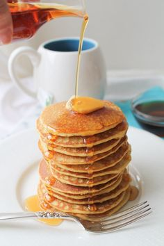 Brown Rice Flour Pancakes – Gluten Free