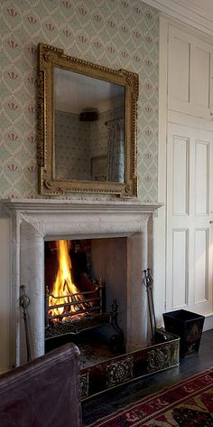 The Gunton Arms, North Norfolk Bedroom Fireplace, Fireplace Mantels, Fireplaces, Fireplace Outdoor, Fireplace Surrounds, English Country Manor, English Style, Elisabeth I, English Interior