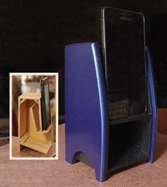Folded Horn Passive Phone Speaker : 8 Steps (with Pictures) - Instructables Horn Speakers, Diy Speakers, Iphone Speakers, Wireless Speakers, Homemade Speakers, Subwoofer Box Design, Diy Subwoofer, Passive Speaker, Small Wood Projects