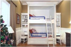 The best bunk beds!!!! On both sides they have a desk