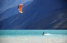 Kite Surfing in Chile