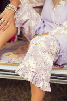 Spring Gypsy Kitty Bloomers, $99 AUD. Flower power hippie chic bloomers.
