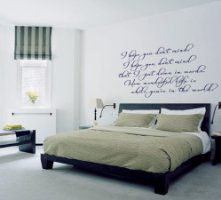 I Hope You Don't Mind (Elton John) Lyric wall decal sticker quote:Amazon:Kitchen & Home