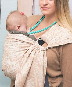 Camel Plume Ring Sling by Poe Wovens #zulily #zulilyfinds