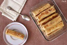 Framboises & bergamote: Rolls de pain perdu