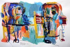 "For Sale: Different Standpoints by Reinder Oldenburger | $500 | 38""w 26""h | Original Art | https://www.vangoart.co/roldenburger/different-standpoints @VangoArt"