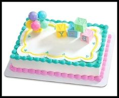 Image Result For Walmart Cake Designs Baby Shower