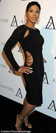Toni Braxton in SEN Couture