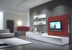 Rack Modulo LCD Michigan- Factory Muebles - fabrica de muebles de melamina, placards, racks lcd, muebles a medida