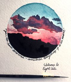 a head full of dreams Photo a head full of dreams Photo Happy Kfdurithphogfu Art Requests OPEN year USF SACD grad student constantly enamored by nbsp hellip aesthetic watercolor Art Inspo, Painting Inspiration, Style Inspiration, Dream Drawing, Art Design, Watercolor Art, Watercolor Sunset, Watercolor Circles, Watercolor Paintings Tumblr