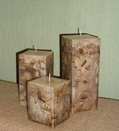 decoração rustica com velas - Pesquisa Google