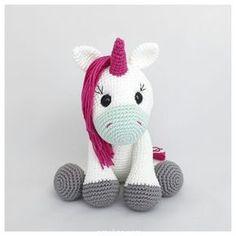 Amigurumi Crochet Oyuncak Tek Boynuzlu At (Unicorn) Pattern Yapılışı Crochet Unicorn Pattern, Crochet Toys Patterns, Amigurumi Patterns, Stuffed Toys Patterns, Bonnet Crochet, Crochet Diy, Crochet Dolls, How To Make Toys, Amigurumi Toys